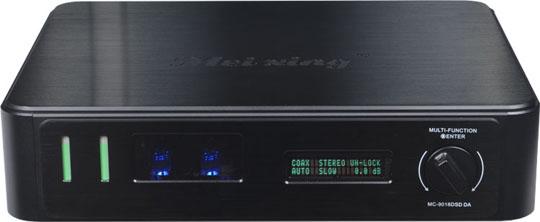 美星2015年推出高级组合电子管解码音频播放器MC9018-DSD DA